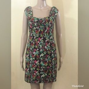Nanette Lepore floral fitted dress